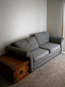 frumpy couch cushion