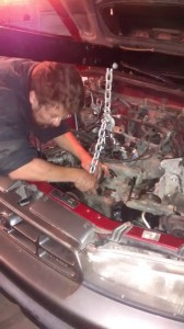 subaru engine blown head gasket