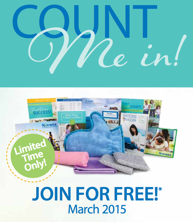 norwex sign up free march 2015
