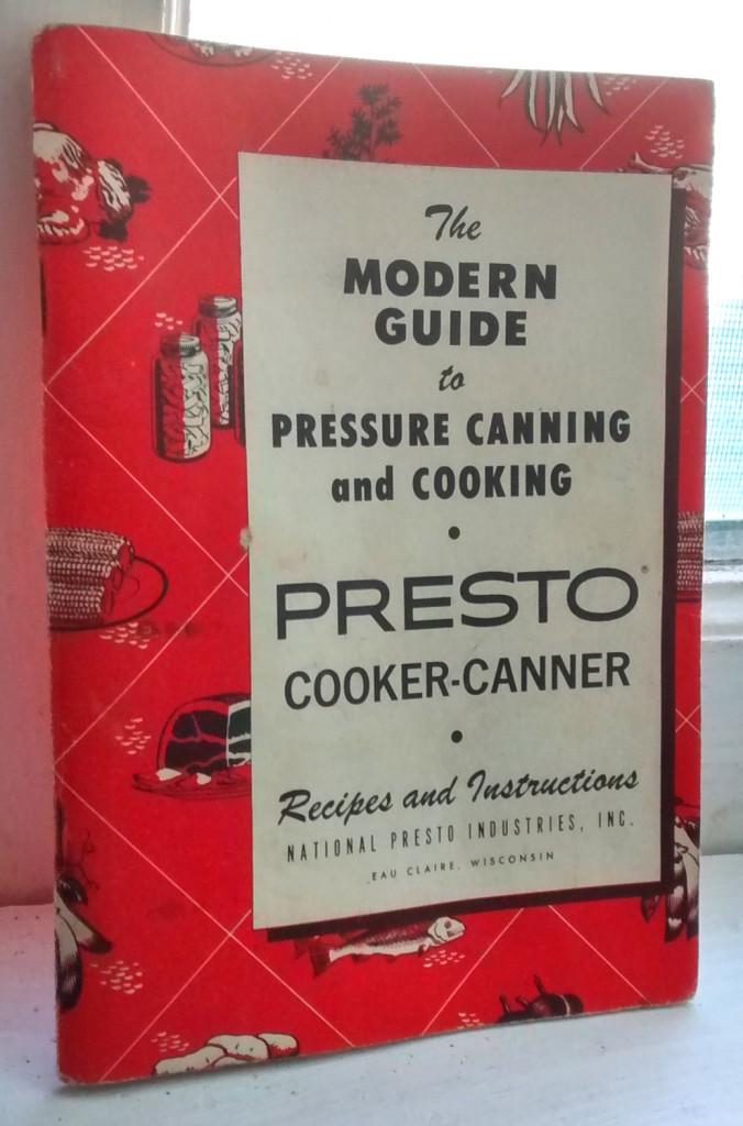 vintage pressure canning book presto